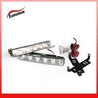 LED auto light manufacturer supply 5W 12V daytime running light with 10LED ABS lampstand auto light TTX-1036