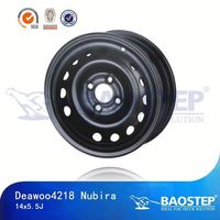 BAOSTEP Oem Service Wholesale Price Water Proof Steel Wheel Rim For Toyota Hiace