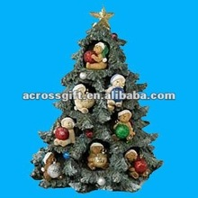 Beautiful resin christmas tree