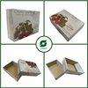 VERY CHEAP CARDBOARD BOX FOR FRUIT AND VEGETABLE CHERRY FRESH FRUIT CARTON PAPER BOXES