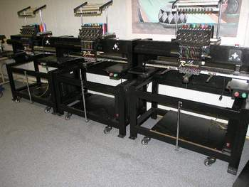 3 Renaissance Embriodery machines for sale