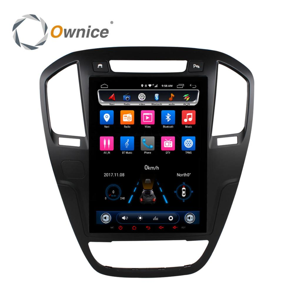 "Ownice C600 Octa Core 10.4"" Android DVD <strong>Player</strong> for Buick Regal 2009 - 2013"