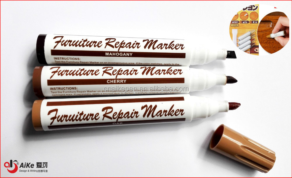 <strong>Wood</strong> furniture floor scratch repair restore fill touch up cover markers pens