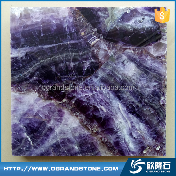 Amazing pretty Luxury Amethyst Crystal Stone Slab