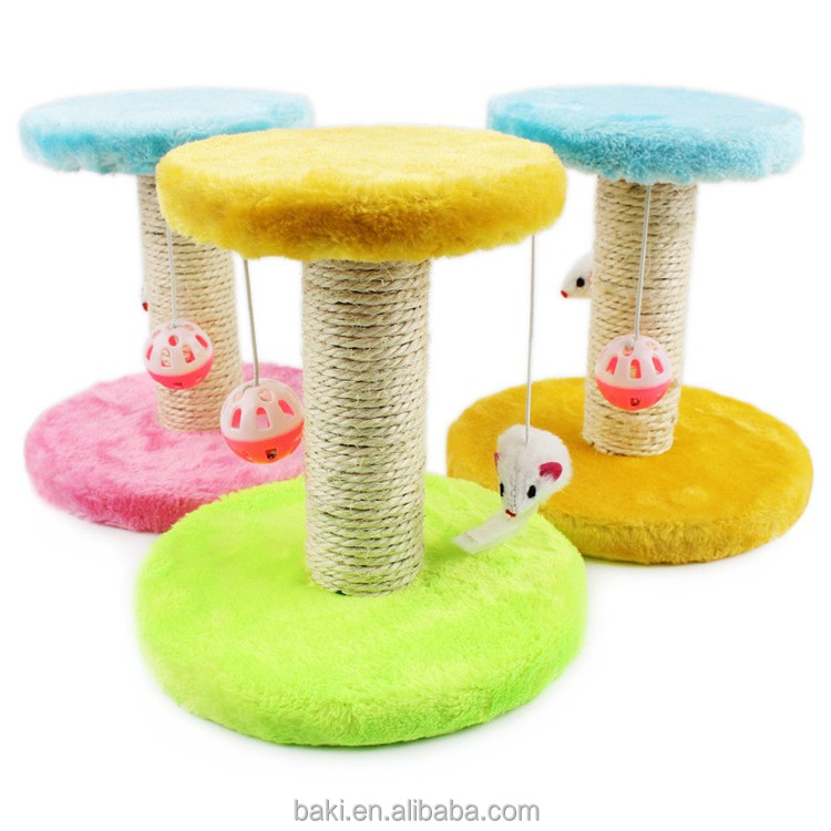 Cat Claws Tree Pet Toy With Resting Nest Area Scratch Post Furniture Cat Tree House Toy