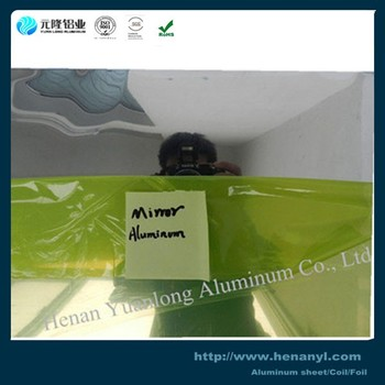 China 3003 H18 Polished Aluminum Mirror Coils For Exterior Usage