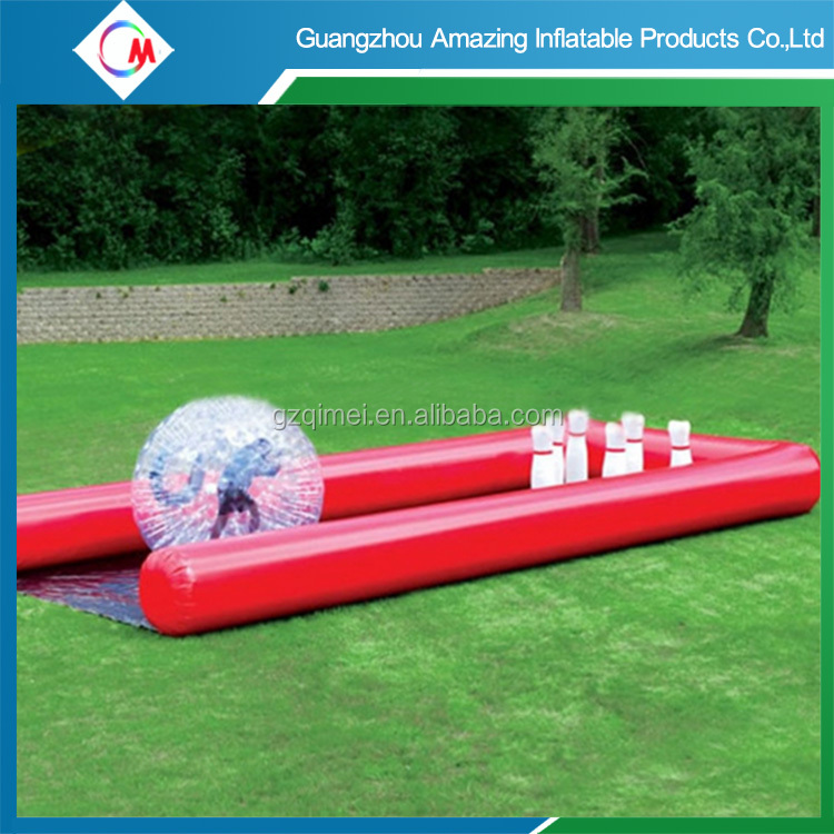 Free shipping ! CE certificate Inflatable zorb human hamster <strong>ball</strong> for bowling