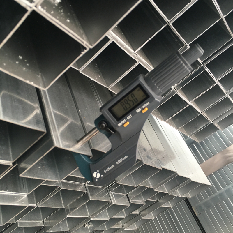 4 inch pre galvanized pipe welding square hollow section steel tube