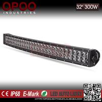 4d 300w 30 inch led bar light for 4x4 jeep wrangler