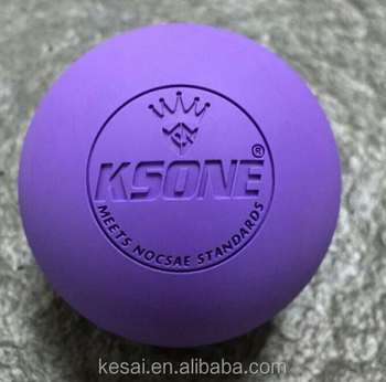 Custom Logo NCAA lacrosse ball