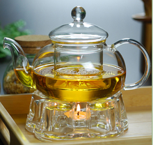 The most hot sale hand blown glass tea sets glass pot wholesale