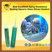 Best Excellent Aging Resistance Sealing Aquaria Glass Silicon Sealant