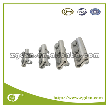 Sichuan 21 Years Manufacture JB Aluminium Parallel Groove Clamp