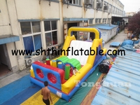 cheap inflatable obstacle course hzt15107