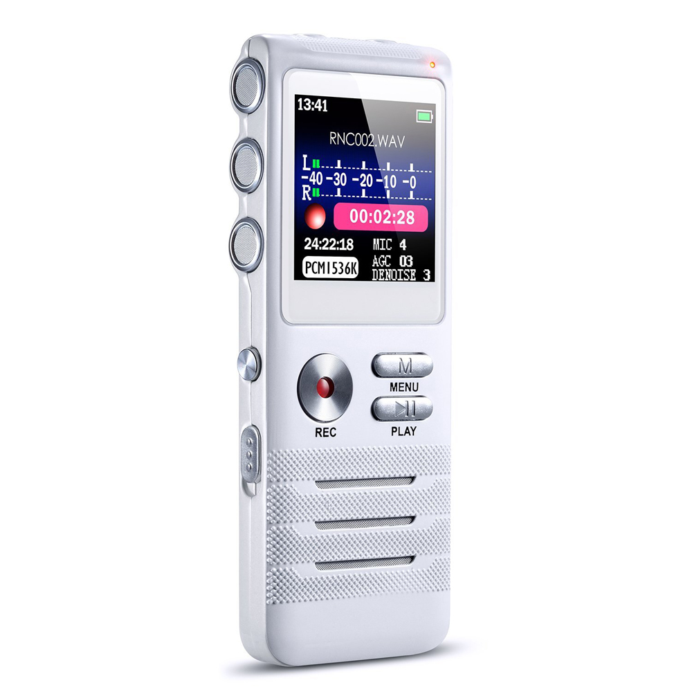 Pocket Sound Recording Dictaphone Digital Voice audio recorder mp3