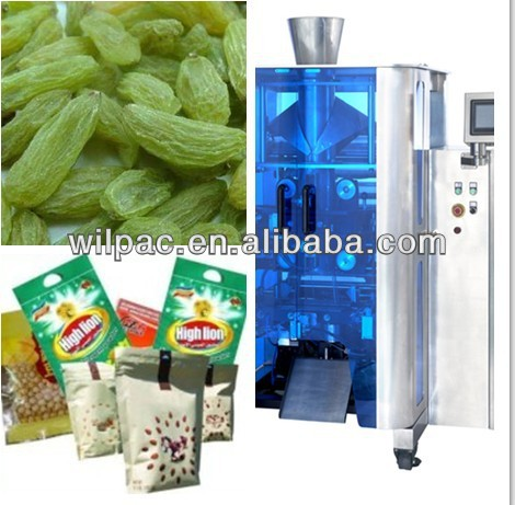 Automatic potato chips weighing and Packaging machine