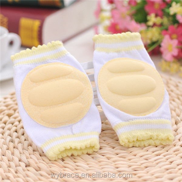 2016 Kids Care Cotton Sports Baby Knee Pads