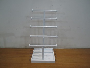 5 Tire Bangle Bar with Square Base Jewelry Holder