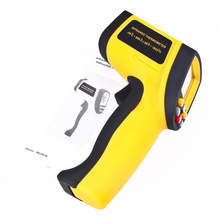 Non-Contact IR Laser Infrared Digital Thermometer GM900 -50degreeC ~ 900degreeC 12:1 NEW