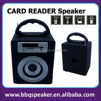 Black new gadgets 2014 5w wood active speaker new products 2014