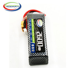 RC battery 7.4V 2600mah 25C 2SIP RC LiPo Battery Deans plug