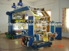 Low price Plastic bag flexographic letterpress printing machine