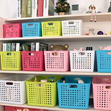Multicolor accept the basket plastic bathtub storage basket