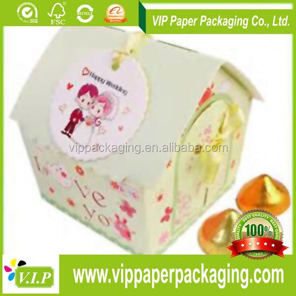 PAPER HOUSE GIFT BOX WITH HIGH QUALITY CERTIFICATE