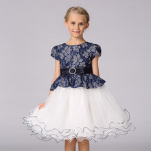 Birthday Flower Girl Net Boutique Dress For 3 Year Old L15099