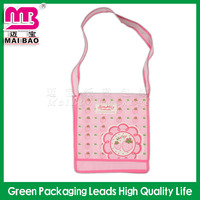 Professional printing AZO free shoulder length non-woven shop bag price