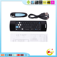 Multi-media remote control 2.4G Wireless Keyboard air mouse Mele F10 Pro xxx arab 2.4g air mouse