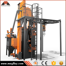 MAYFLAY Aluminum Ingot Casting Shot Blasting Machine