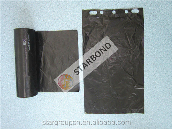 HDPE Poopy Bags/Dog Waste Bag/Printed Flat Bag