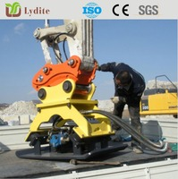 hydraulic excavator vibrating plate compactor for sale