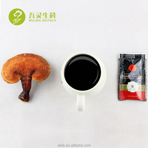 Natural herb juncao ganoderma reishi lingzhi instant coffee