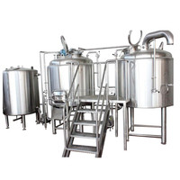 300 - 1000 liter mini fruit beer wine brewery production machinery