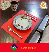 silicone glass table anti-silp dinner table mat food pad