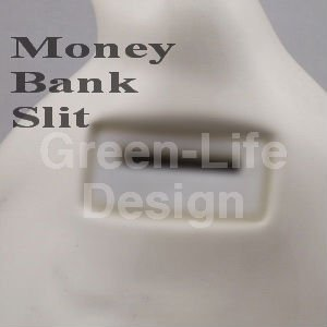 Recordable Polyresin Money Bank with photo frame