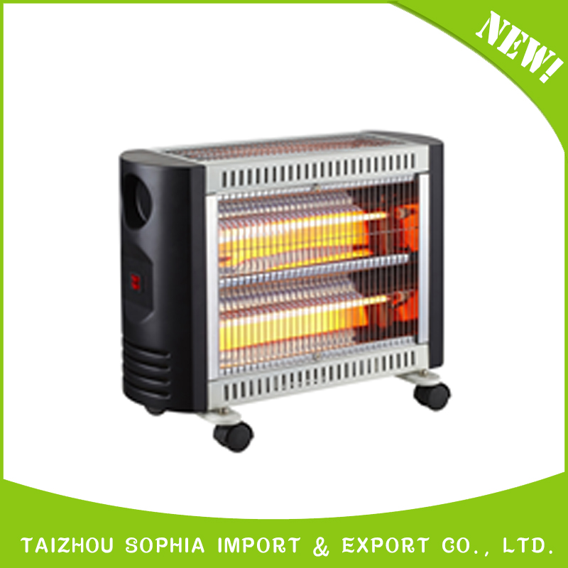 High Quality 4 quartz tubes Electrical Heater,room electric heater