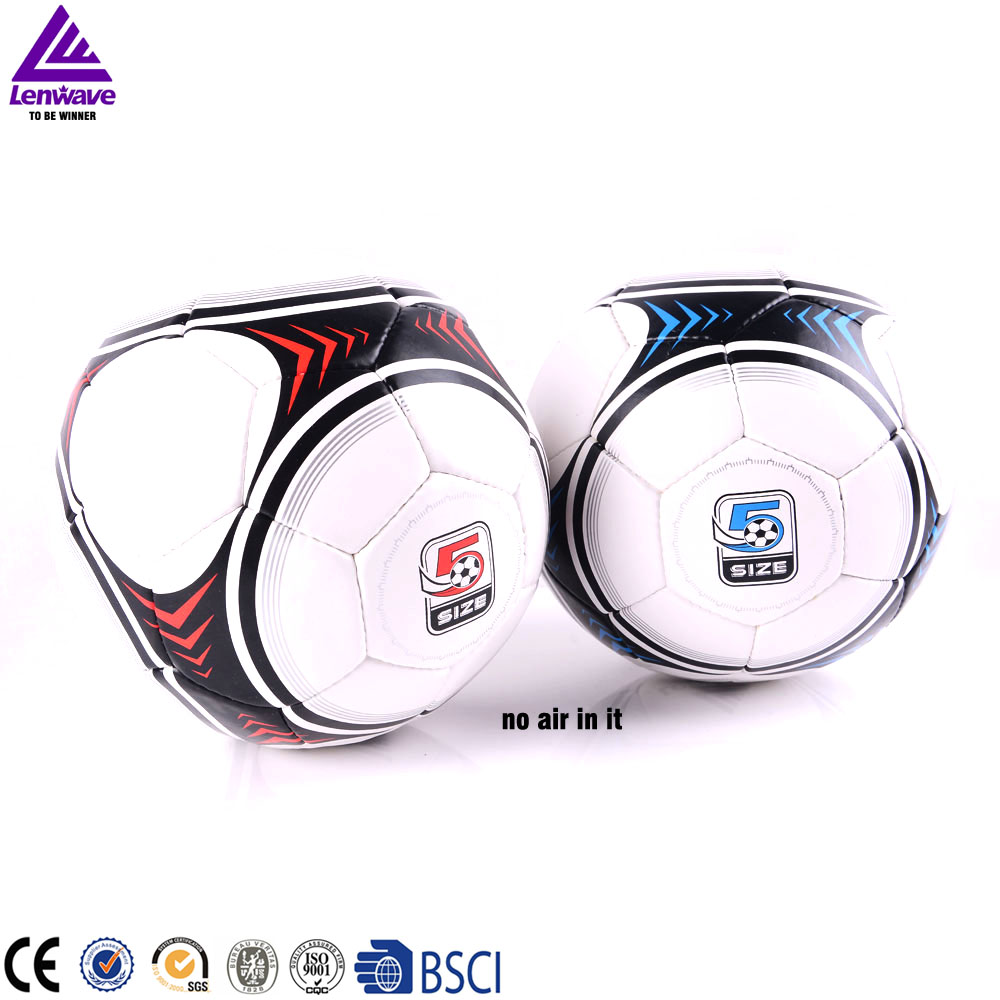 Factory wholesale high quality hand sewing professional training rubber soccer ball