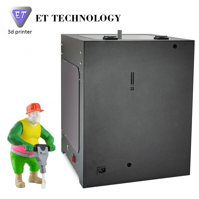 3D Printer Leading Brand Yite ET 3D Printer Machine Desktop FDM Filament Extrusion Sheet Metal 3D Printer