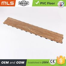 New Product Wood Grain Multi Click System Pvc Floor For Indoor Sport