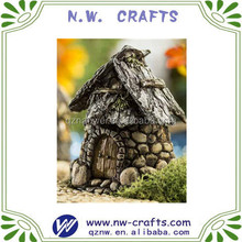 Factory custom resin wholesale fairy garden house