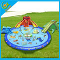 catoon cheap inflatable water park
