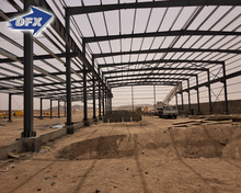 Cheap Standard Steel Frame Structure Fabricated Warehouse For Middle East