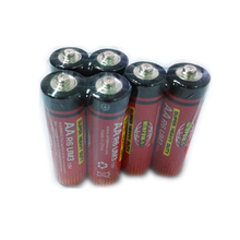 AA Carbon Zinc Battery 0% Lead Zinc Chloride Dry Battery