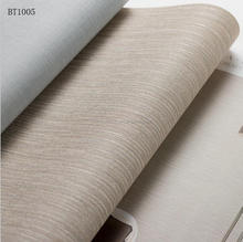 BT1005 Anti Static Natural Soundproof Hotel Project Wallpaper