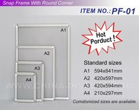 Super Slim Picture Holder Aluminum Poster Frame