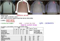 Sell Stock Of Men's Sweater