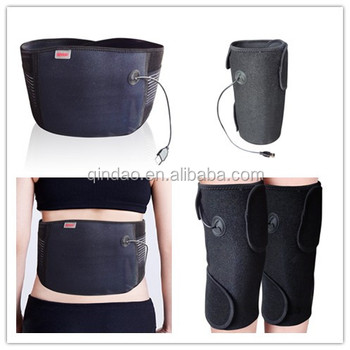 Newest portable multi-using heating knee and belt with USB